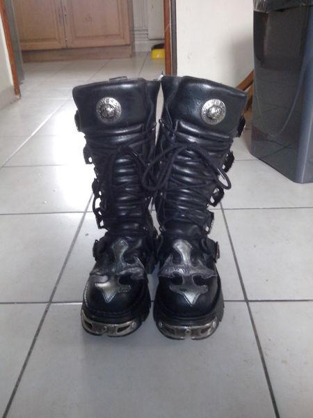 bottes gothiques New Rock Chaussures