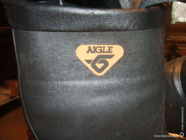 BOTTES GRAND FROID AIGLE - ORIGINAL DE L'ARMEE - 50 Thueyts (07)