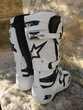 Bottes de motocross Alpinestars Tech 10 blanc Chaussures