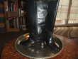 Bottes noires en cuir (femme) Chaussures