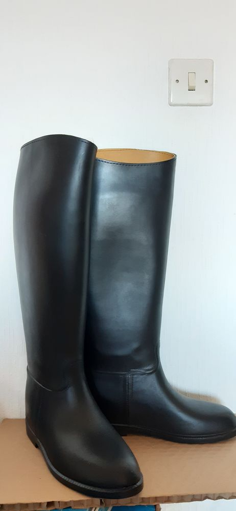 Bottes noires d'équitation Aigle femme pointure 38 - neuves 80 Bonchamp-lès-Laval (53)