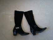 bottes noires neuves chic marque METAYER t 40 60 Agde (34)