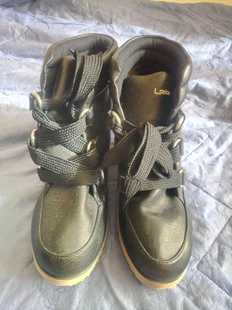 BOTTINE noire Chaussures Les P'tites Bombes femme P.38 Chaussures