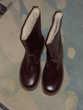 Bottine de sécurité pour homme en cuir, fourrée-Pointure 43 Chaussures