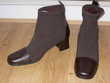 Bottines  chaussettes  femme, pointure 38 neuves talons 5 cm Chénérailles (23)