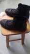 Bottines chelsea avec petits clous pointure 40.