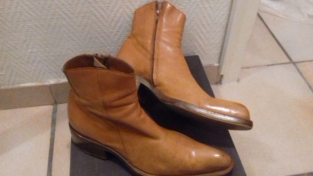 bottines homme d'occasion