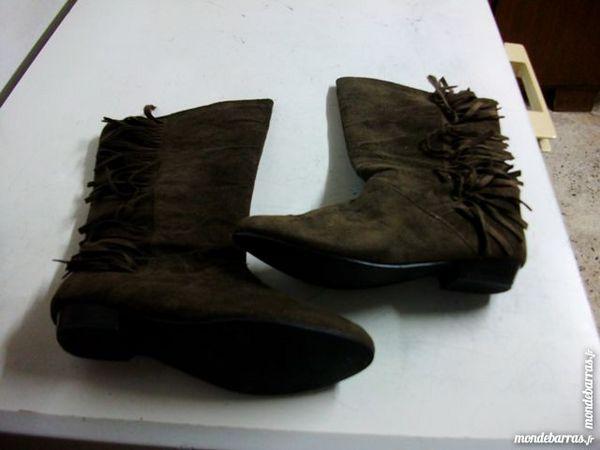 Achetez bottines marron daim quasi neuf, annonce vente à Bouxwiller ... 7479d77633ce