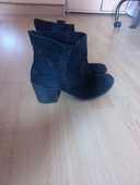 Bottines noires femme 10 Puygros (73)