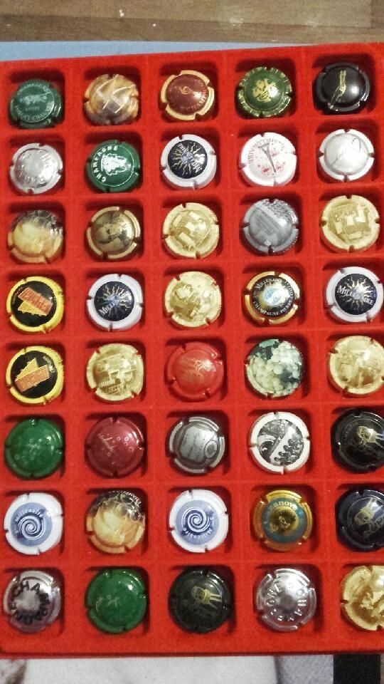 Bouchon de Champagne de collection  15 Franconville (95)
