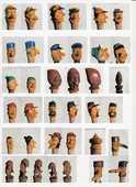 17 Bouchons de bouteille début  XXème sculptés main 240 Talloires (74)