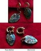 Boucles d'Oreille  Opale des mers 50 Antibes (06)