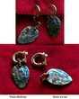 Boucles d'Oreille  Opale des mers