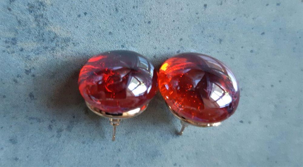 boucles d'oreilles cabochon en verre 4 La Seyne-sur-Mer (83)