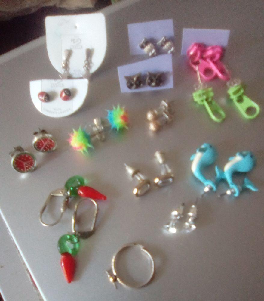 13 boucles d'oreilles enfant / ado 15 Beauchamp (95)