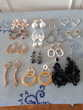 Boucles oreilles percées - Parfait état - 4 euros pièce
