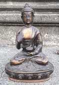 Bouddha en bronze 50 Saint-Christol-lès-Alès (30)