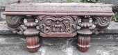 Bouddha pièce bois sculpté 150 Saint-Christol-lès-Alès (30)