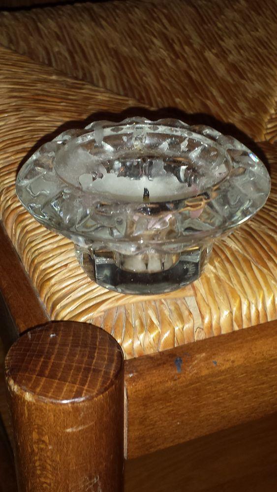 Bougeoir en verre en cristal et autres articles 0 Mérignies (59)