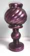 2 bougeoirs - photophores - support bougies & socle violet Décoration