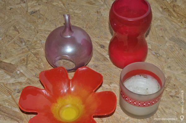 Lot de pot à bougies 5 Perreuil (71)