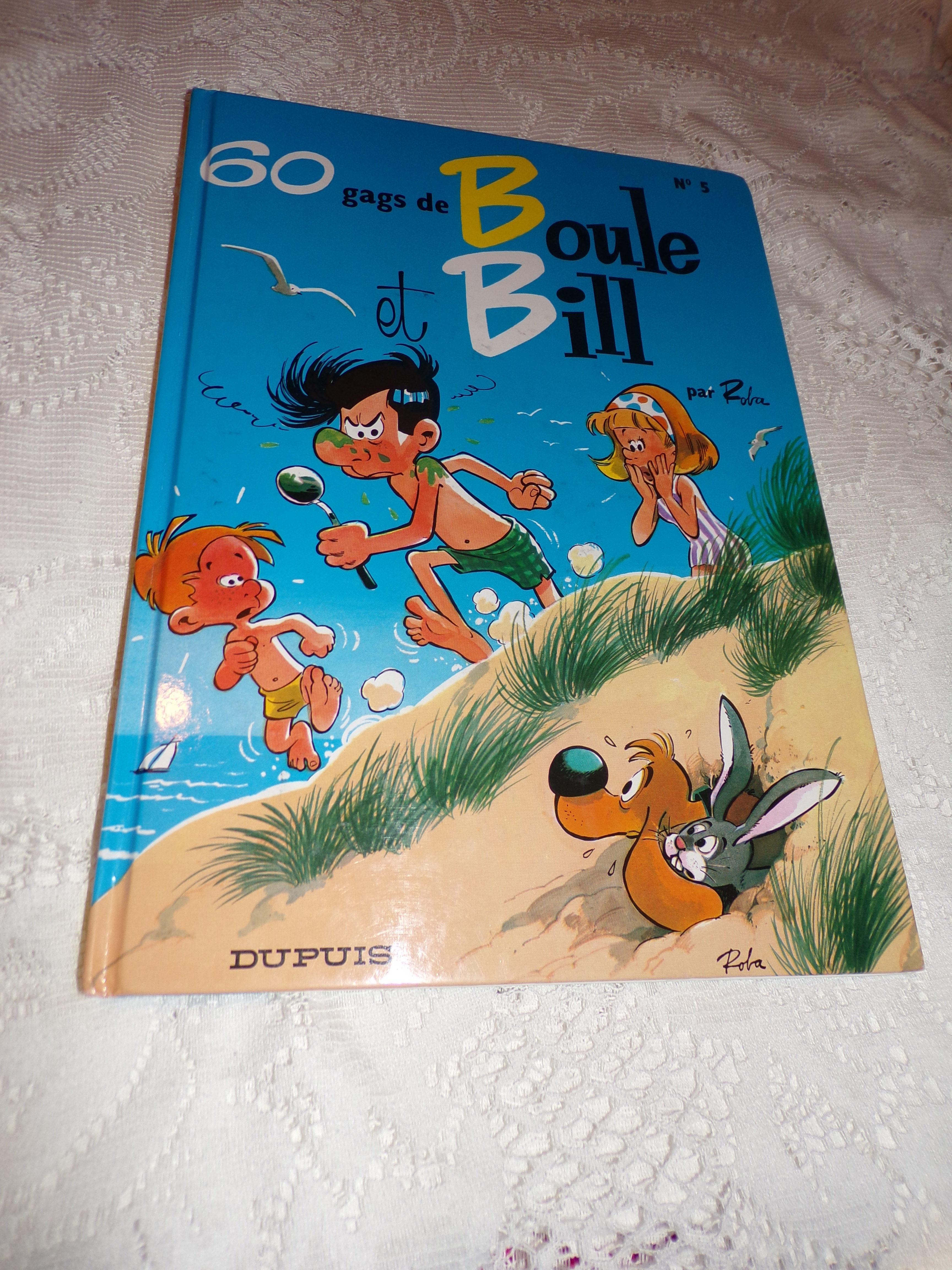 BD de BOULE et BILL 10 Villeparisis (77)