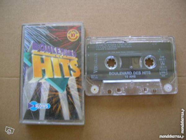 K7 BOULEVARD DES HITS Slows CD et vinyles