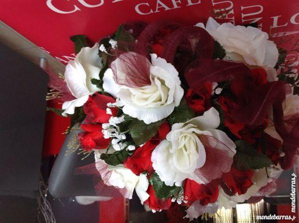 Bouquet artificiel mariage - cérémonie 8 Arnage (72)