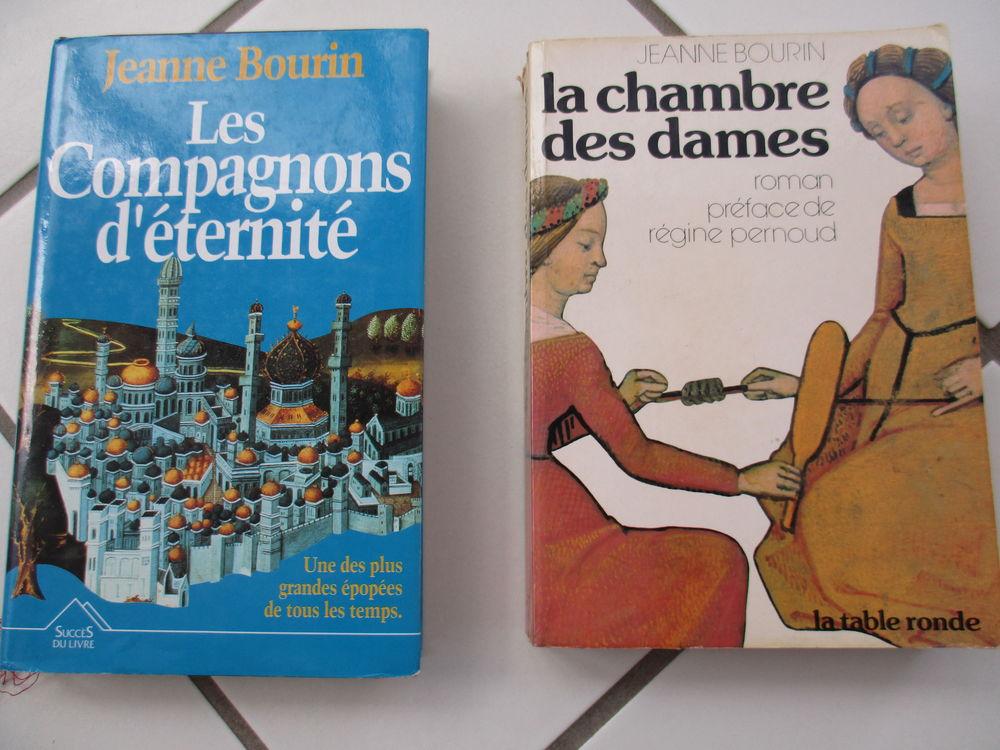 BOURIN Jeanne : les compagnons d'éternité+ la chambre des da 2 Sathonay-Village (69)