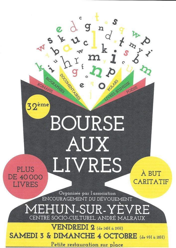 32° BOURSE AUX LIVRES 0 Mehun-sur-Yèvre (18)