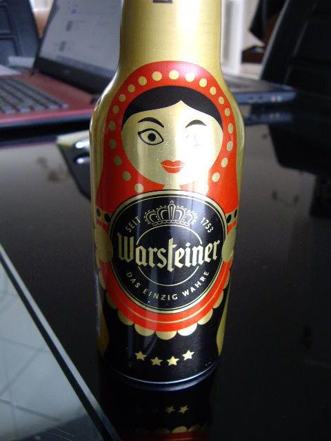 Bouteille bière vide Coupe du monde de football 10 Terssac (81)