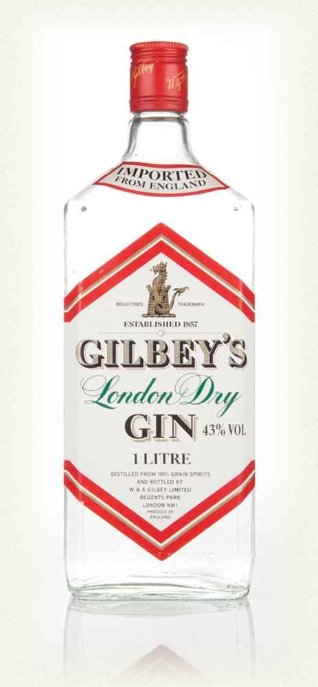Bouteille de 1 litre Gilbey's London Dry Gin 43%vol. an 70 100 Marseille 5 (13)