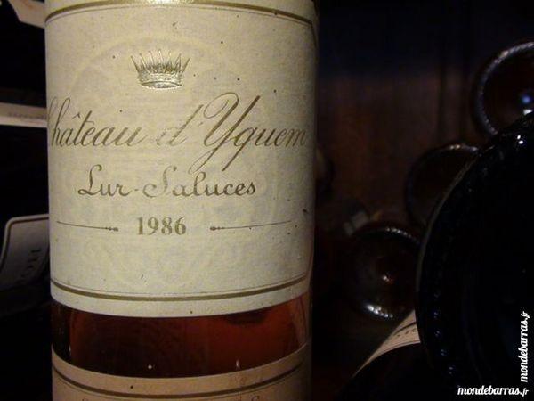 1 bouteille Sauternes château d'Yquem 1986 0 Saint-Aigulin (17)