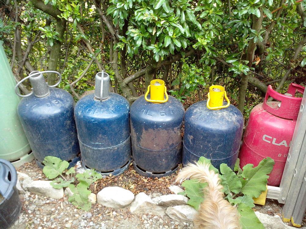 bouteille de gaz Electroménager