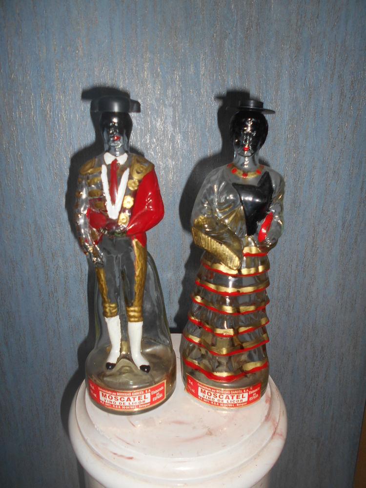 BOUTEILLES décoratives   Couple ibérique    15 Dammarie-les-Lys (77)