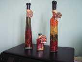 2 BOUTEILLES et un flacon en verre pour décoration cuisine 6 Brouckerque (59)