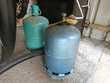 bouteilles de gaz