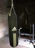 Sac de boxe Adidas 100 Champagne (07)