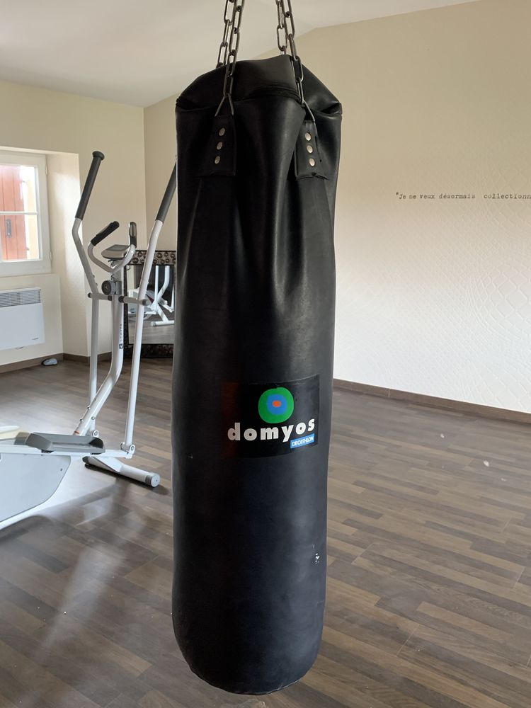 Sac de Boxe cuir Sports