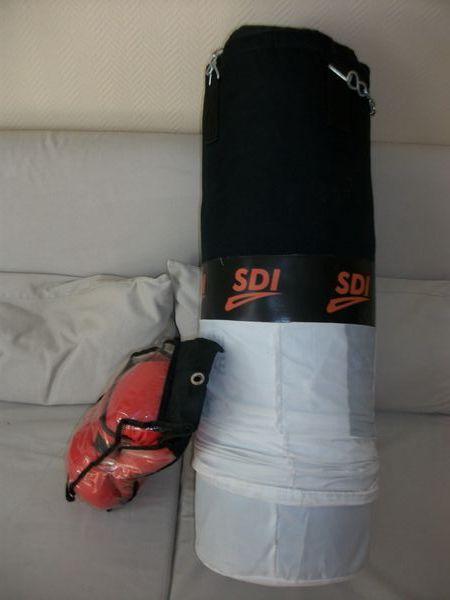 Kit de sac de boxe + 1 paire de gants  80 Le Thillay (95)