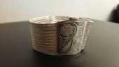Bracelet en argent massif 100 Paris 14 (75)