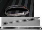Bracelet Argent rétro / année '70  120 Antibes (06)
