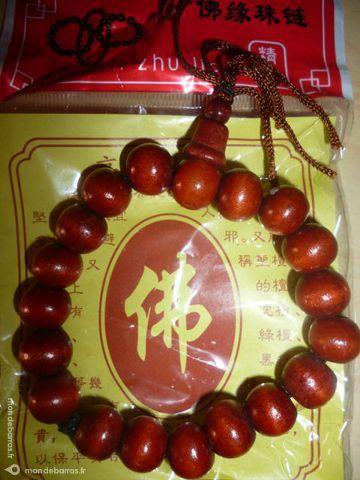 Bracelet de Bouddha en Bois (Longévité) 3 Tarbes (65)