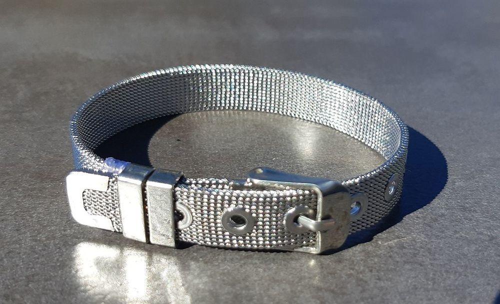 Bracelet ceinture large en mailles souples et ajustable 14 La Seyne-sur-Mer (83)