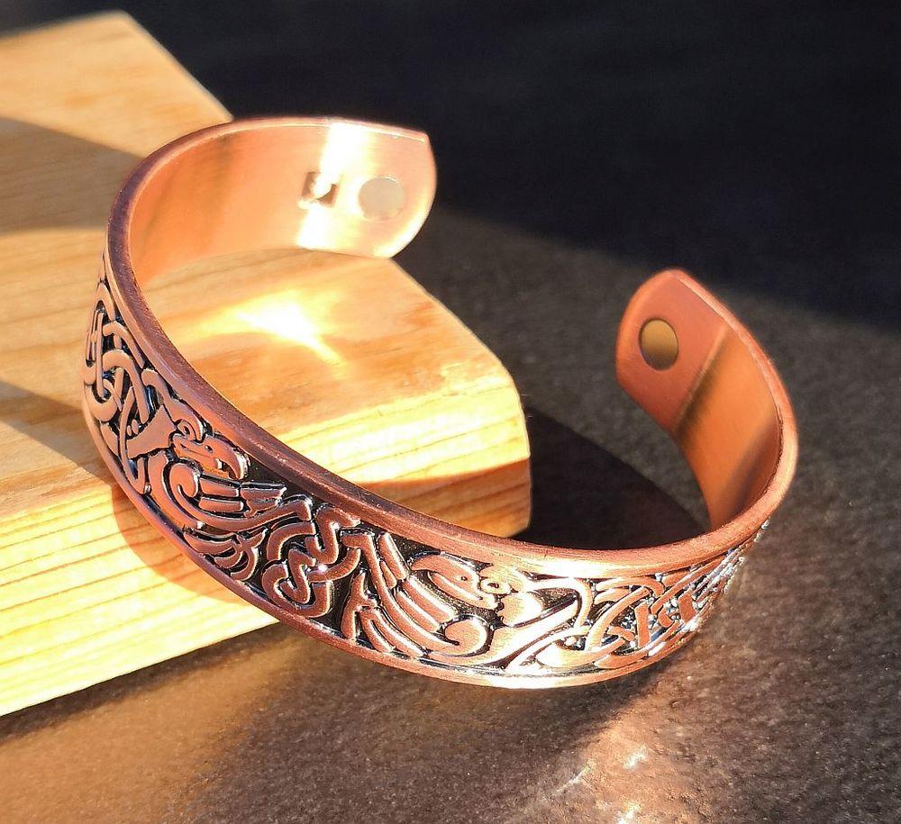 Bracelet Celte jonc en cuivre magnétique Mixte 15 La Seyne-sur-Mer (83)