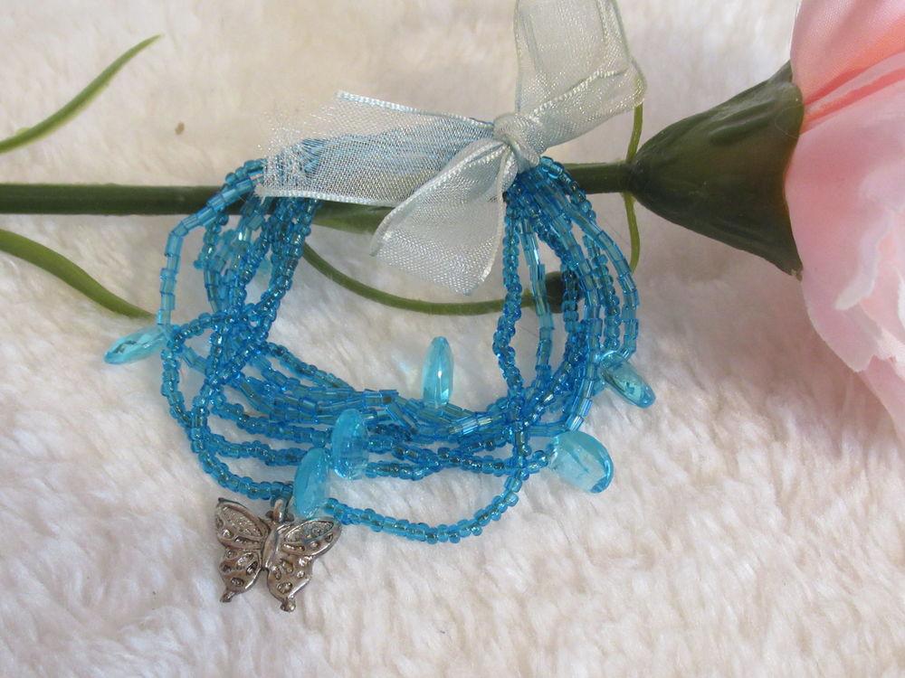 Bracelet fantaisiste élastique - perles et breloque 2 Livry-Gargan (93)
