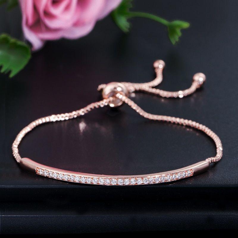 Bracelet Femme Rose Réglable 10 Saint-Laurent-des-Arbres (30)