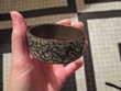 Bracelet indien métal et éclats de pierres