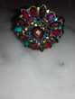 Bracelet manchette multicolore