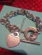 Bracelet plaque coeur Return to Tiffany Bijoux et montres